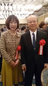 東京大学名誉教授、日本学術振興会理事の浅島誠先生と久しぶりに再会しました。私の母と同じ佐渡出身で、以前から懇意にさせて頂いてます。