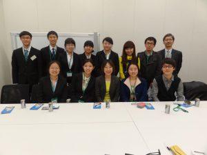 日中交流センターの訪日研修プログラムで来日した中国の大学生の訪問を受けました