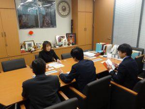 内閣府沖縄担当による法案説明
