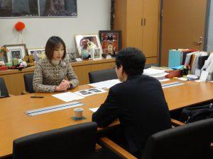外務省から日ロ首脳会談の説明を受ける