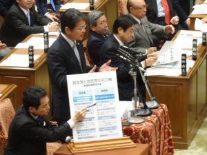2014年1月31日予算委員会での長妻質問2