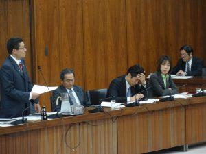 文部科学委員会で補正関連法案を審査