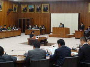 文部科学委員会で法案の趣旨説明を聴取