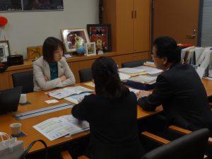 NHK予算の説明を聴取