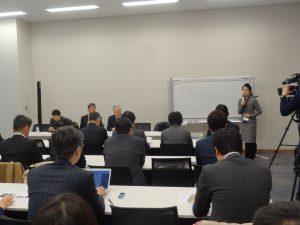 北朝鮮に対するより強い国連決議を求める院内集会
