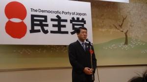 泉田県知事には、懇親会にてお祝いと激励のご挨拶を頂きました。