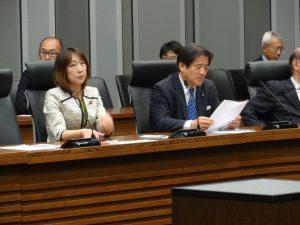 滋賀県知事選に立候補した三日月泰三君を応援する会