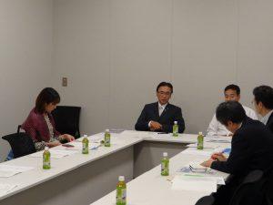 日本太平洋島嶼国友好議員連盟のコアメンバー会議を開催。次回の会議について協議