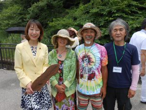 毎年この会場でお会いする和歌山県から参加の吉岡さん