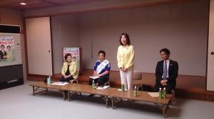 まちづくりNPOとの座談会。近江八幡市の歴史、文化を継承、発展するために活動されている皆さんと有意義な意見交換ができました。