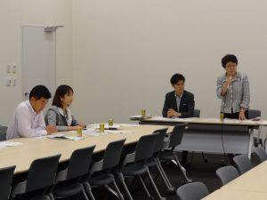 少子化男女共同参画内閣特別部門会議と連合との意見交換