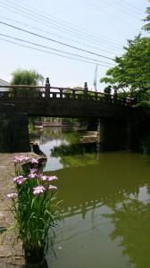 プライベートでまた来たい。近江八幡市はお堀を中心に古い町並みが大切に保存されています。