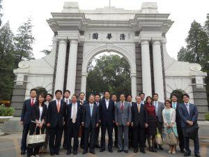 中国のトップ大学である清華大学を訪問