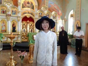 ロシア正教会を視察