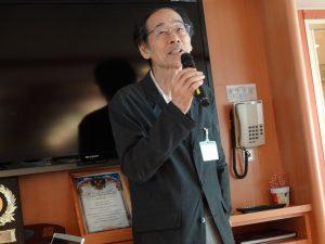 元島民(択捉島出身)の三上洋一さんの講和を聴きました。