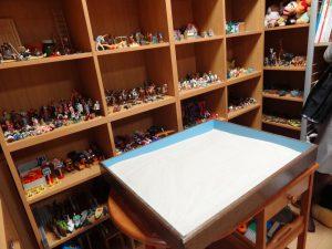 おもちゃもとても綺麗に整理整頓されています。