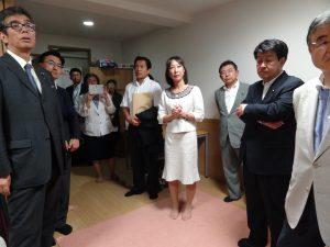 続いて錦華学院へ。こちらは乳児院より上の年代。18歳までの児童を支援しています。