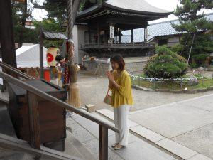 新津まつりへ。まずは神社を参拝しました。