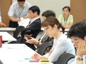 東日本大震災子ども支援意見交換会に出席しました