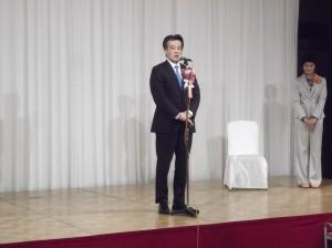 特別ゲストの岡田克也代表代行