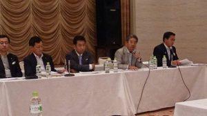 安全保障、憲法 両総合調査会の報告
