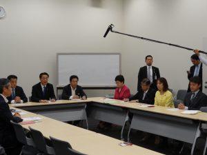 国政選挙対策本部、初会合に出席。私は事務局長代理に就任致しました。