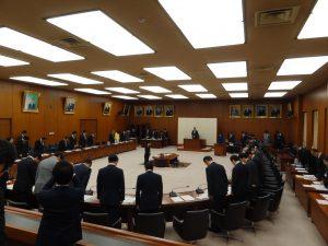 災害対策委員会が開催されました。