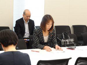 文部科学部門会議に出席。