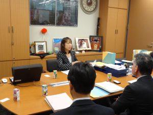 新潟県の教育の課題についてヒアリングを受けました