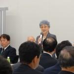 横田早紀江さんからもご挨拶。本当に連日の活動に頭が下がります。