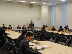 拉致議連役員会に出席。北朝鮮訪問の報告、今後の対応について協議