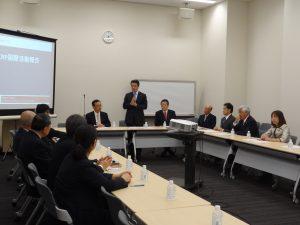 WCRP国際活動支援議員懇談会をこの度結成致しました。ベンドレー事務総長から報告を受けました。