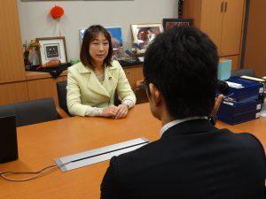 新潟テレビより取材を受けました。明日の夕方のニュースで放送とのことです