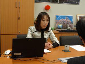 新潟日本から取材を受けました