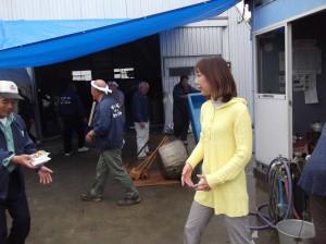 貝喰地区の収穫祭にお邪魔しました