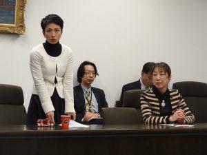民主党女性議員懇談会を開催。