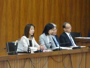 文部科学委員会が開催されました