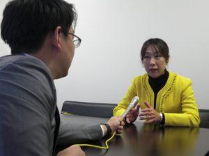 地元マスコミよりインタビューを受けました