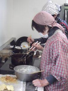 揚げたての天ぷらは絶品でした