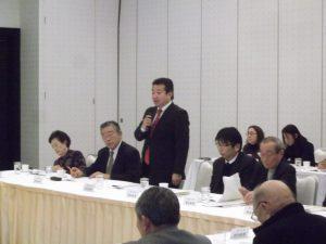 藤田博史市議が県議選出馬を表明しました