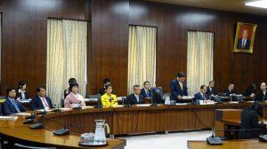本会議後には拉致問題特別委員会も開かれました
