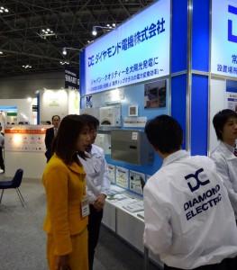 地元新潟県からも多数の企業、大学が出展。製品についてご説明いただきました。
