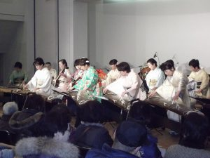 「加茂邦楽こども教室」の新春コンサート