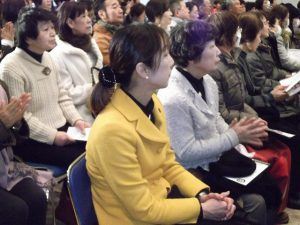 新春にふさわしい日本の伝統音楽を楽しみました