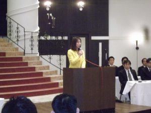 自動車総連様にて県連代表としてご挨拶させて頂きました。