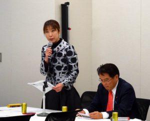 民主党拉致問題対策本部総会を開催。事務局長として進行役を務めました。