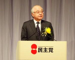 来賓を代表して古賀信明連合会長よりご挨拶。