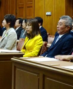今国会で最初の文部科学委員会が開かれました。