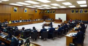 文部科学委員会会。日本スポーツ振興センター法改正案の採決。