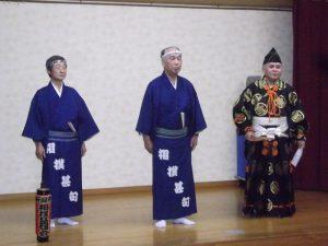 新潟市相撲甚句会の皆さまから、相撲甚句をご披露頂きました。